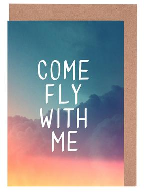 Come Fly with Me wenskaartenset