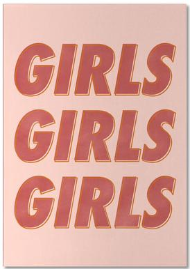 Girls Red notitieblok