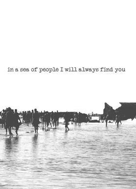 I'll Find You Leinwandbild