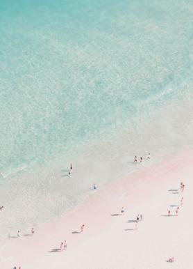 beach love as canvas print by ingrid beddoes juniqe