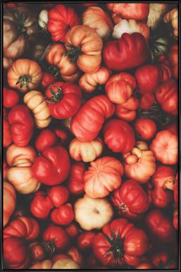 Tomato Rouge affiche encadrée