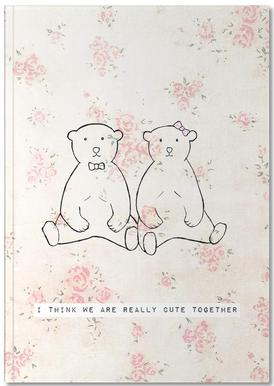 I Think We Are Really Cute Together Carnet de note