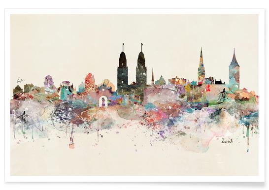 Zurich Affiche