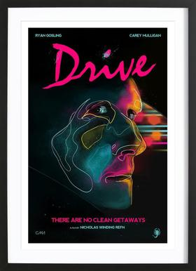 Drive Framed Print