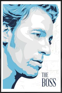 Bruce Springsteen ingelijste poster