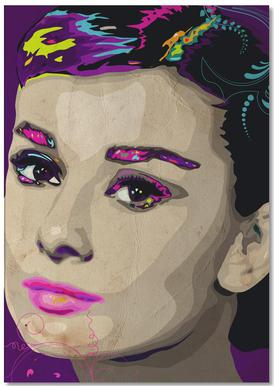 Audrey Hepburn Notepad