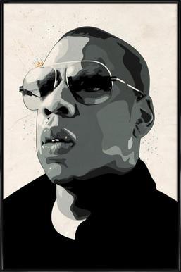 Jay Z Framed Poster