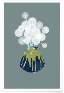Dandelions affiche