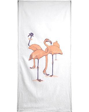 Photobombed handdoek