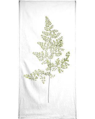 Leaf Study 6 Beach Towel