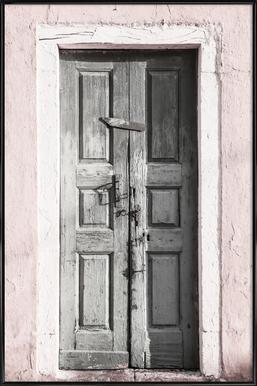 Door to Assos affiche encadrée