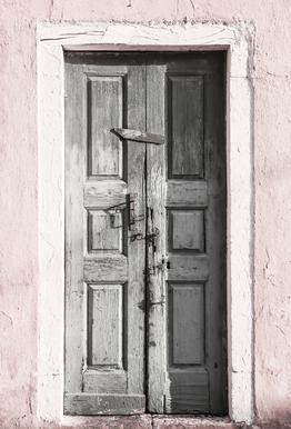 Door to Assos -Acrylglasbild
