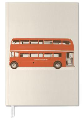 Red London Bus Personal Planner