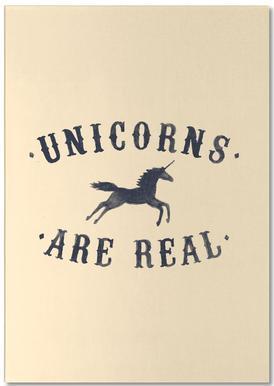 Unicorns Are Real I notitieblok