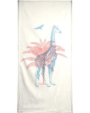 Giraffe Serviette de bain