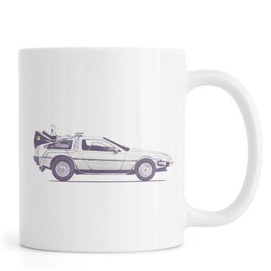 Delorean - Back to the Future Mug