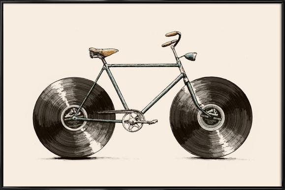 Velophone Framed Poster