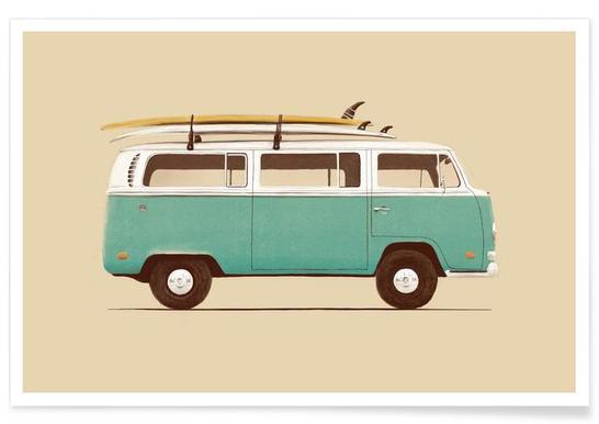 Blue Van Affiche