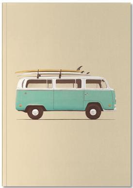 Blue Van Notebook