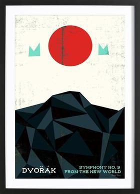 Dvorak   New World Symphony   Prelude Posters   Poster Im Holzrahmen ...