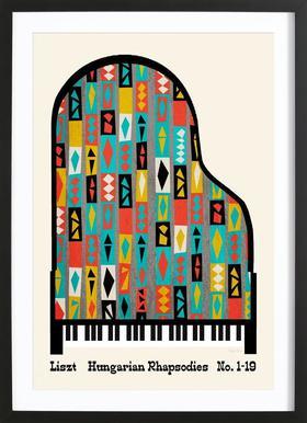 Liszt - Hungarian Rhapsodies Framed Print
