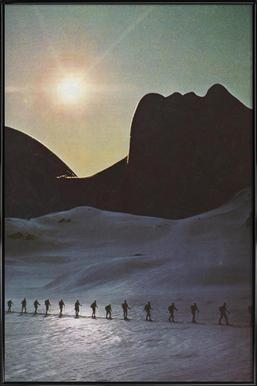 Long trek home Poster in Standard Frame