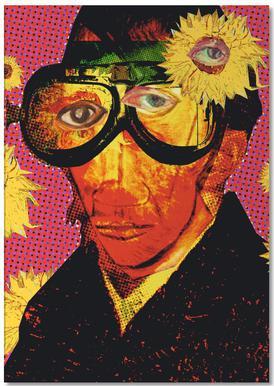 Pablo van Gogh 4 Notizblock