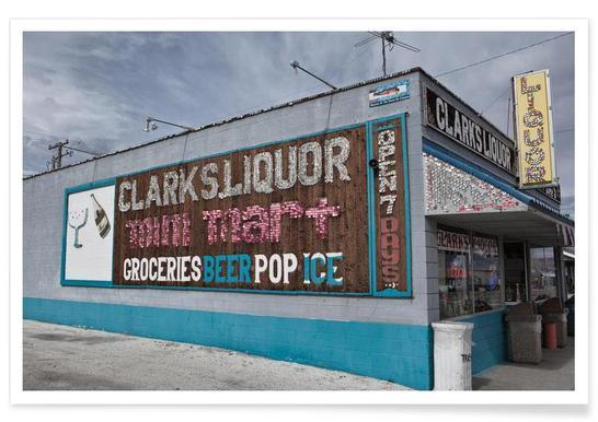 Liquor Store Hawthorne Poster