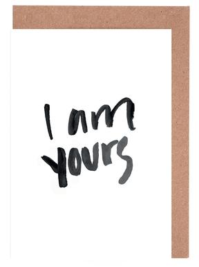Yours Greeting Card Set