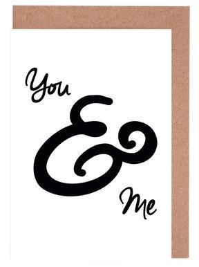 You & Me wenskaartenset
