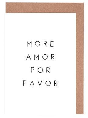 More Amor -Grußkarten-Set