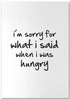 hungry notitieblok
