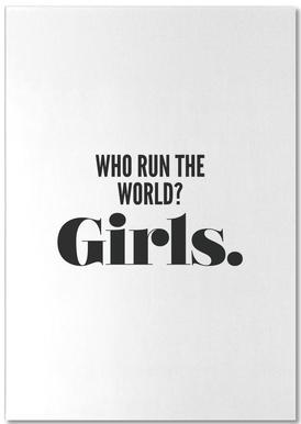 Run Girls notitieblok