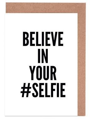 selfie Set de cartes de vœux