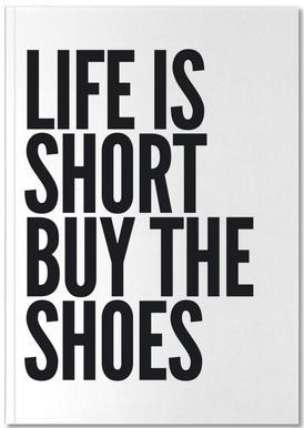 shoes Notizbuch