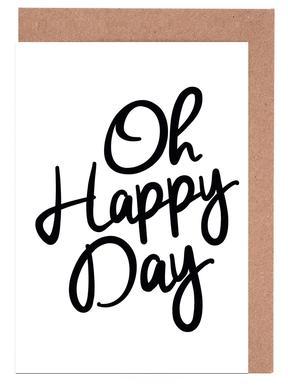 Happy Day Grußkartenset