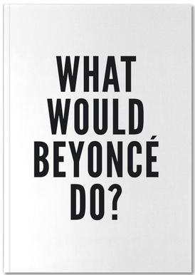 beyonce Notebook