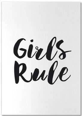 Girls Rule notitieblok