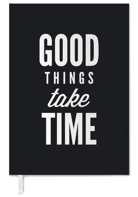 Good Things Take Time Personal Planner