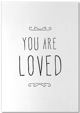 You Are Loved Bloc-notes