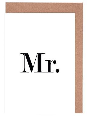 Mr. Set de cartes de vœux