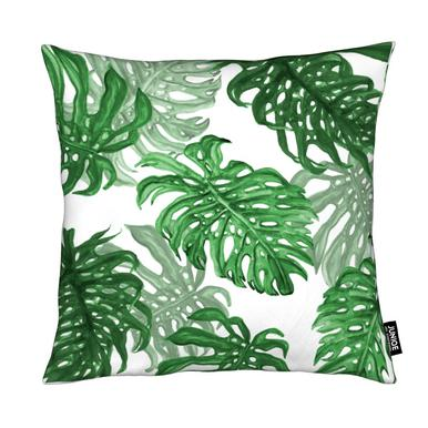 Monstera Deliciosa Cushion