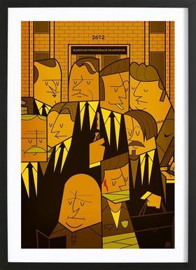 Reservoir dogs ingelijste print