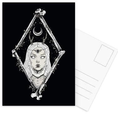 Bones Set de cartes postales