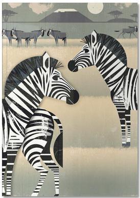 Zebra Carnet de note