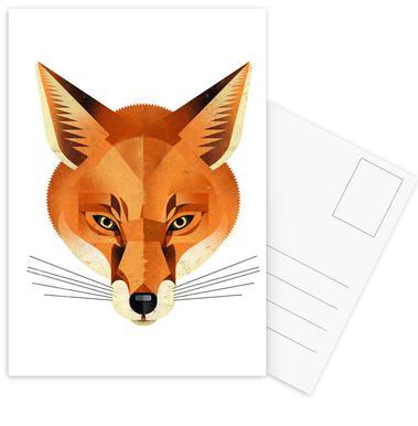 Fuchs Ansichtkaartenset