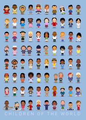 Children Of the World toile