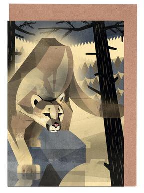 Mountain Lion Greeting Card Set