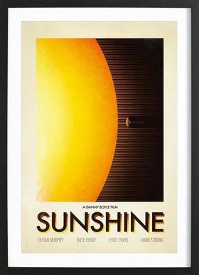 Sunshine ingelijste print