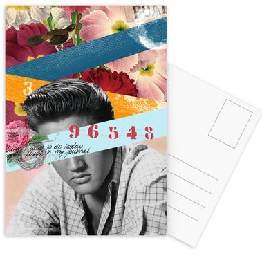 Public Figures: Elvis ansichtkaartenset